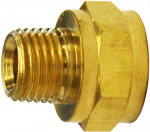 "Raccord adaptateur 1/4"" AG x 3/8"" IG - 2 pièces"