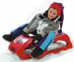 Rolly Toys Luge SNOW CRUISER  Rouge